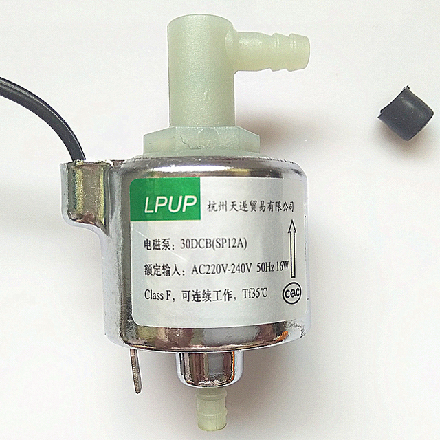Miniature solenoid pump magnetic pump model 30 DCB (SP12A) voltage AC230V50Hz power 16W