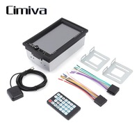 Cimiva 7 Inch Universal 7020G Car Bluetooth Audio Stereo Car MP5 Player Touch Screen GPS FM