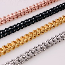 6MM New Arrive Stainless Steel Silver/Gold/Black/Rose Gold Lobster Buckle Figaro Wheat Link Chain Men's Women's Necklace 23.6