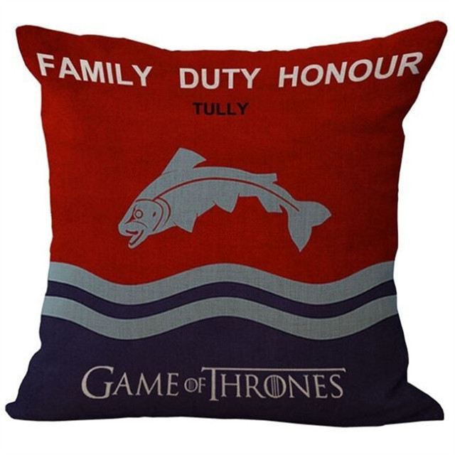 Game of Thrones Style Pillow Case
