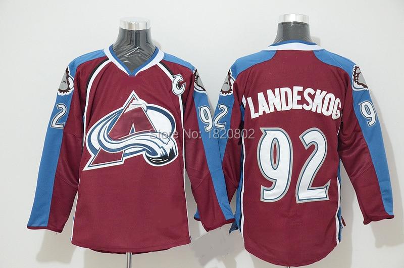 f0a19646ccc ... Free Shipping Colorado Avalanche 92 Gabriel Landeskog Jersey 2016  Stadium Series White Red Blue Hockey ...