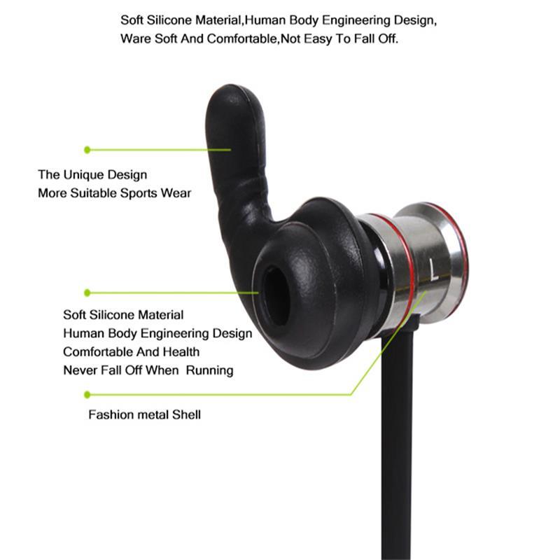 Visoka kakovost brezžične Bluetooth športne slušalke z mikrofonom - Prenosni avdio in video - Fotografija 3