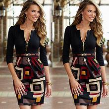 Hot Fashion Womens Bodycon Pencil Dress Ladies Evening Party Bandage Dress Size 6 – 16