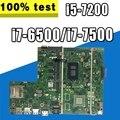 Для ASUS X541UVK X541UAK X541UV X541U X541 X541UJ X541UVK материнская плата для ноутбука оригинальная материнская плата 8G i7-6500/i7-7500/i5-7200