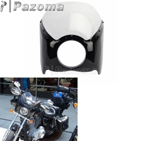 Clear ABS Plastic Narrow Wide Glide/Custom Mid Glide Fairing Kit For Harley Motorcycle