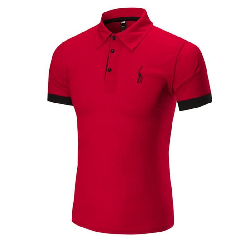 New Men   Polo   Shirt Classic Summer Style Short Sleeve   Polo   Homme Casual Mens Solid   Polo   Shirt Brands Logo Embroidery Top Quality