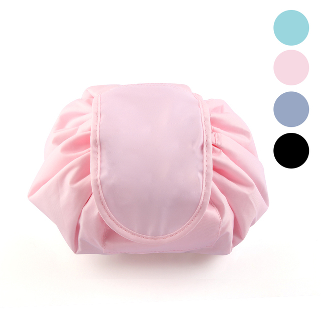 New Cosmetic Kit Bag Travel Makeup Brushes Toiletry Case Wash Organizer Waterproof Pouch Fashion Portable Drawstring