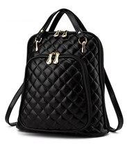 Известный дизайнер марки плед рюкзак женщины ipad сумок мода женщина PU плечи книги сумка дамы кожаные сумки карман файл