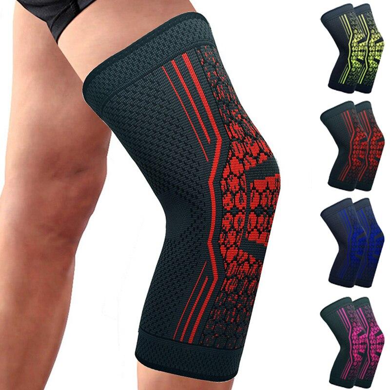 TIMOWIN 1 stücke Knie Protector Knie Pads Knie Unterstützung für Laufen, Radfahren, Joggen, arthritis und Verletzungen Recovery Warm Halten