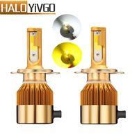 H4 H7 H11 H1 H13 H3 9005 9006 9012 H27 881 880 COB LED Car Headlights