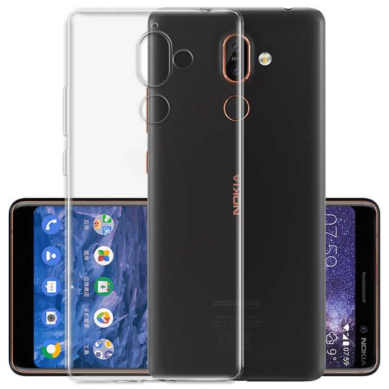 Phone Case For Nokia 1 2 2.1 3.1 5 5.1 6 6.1 7 8 9 x5 x6 2018 Plus Soft TPU Silicone Clear Cases Transparent Back Cover