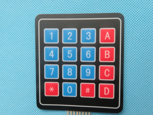 DOIT New 16 Key 4 * 4 Membrane Switch Keypad 4x4 4*4 Matrix Array Matrix keyboard