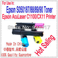 Compatible Toner Refill For Epson AcuLaser C1100 C100 CX11 CX21 Printer,For Epson CX21 CX11 C1100 C100 Toner Reset,For Epson