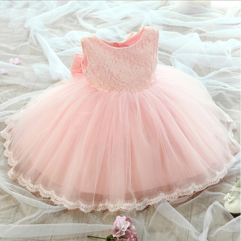 Brand New Flower Girl Dresses with Bow Wedding Party Dress Communion Gown Pageant Dress for Little Girls Kids/Children Dress children girls new luxury birthday wedding party ball gown dress kids fashion pink blue color front shor back long pageant dress