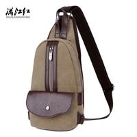 Fashion Chest Shoulder Bag Anti Theft Buckle Design Women Men Teenager Waterproof Crossbody Sling Messenger For