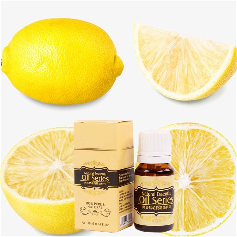 Promotion Price 10ml Water-soluble 100% Pure Lemon Essential Oils for Aromatherapy ...