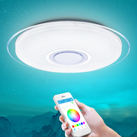 Modern intelligent led ceiling light RGB dimming 25W36W52WAPP control ceiling light Bluetooth & music modern LED ceiling light