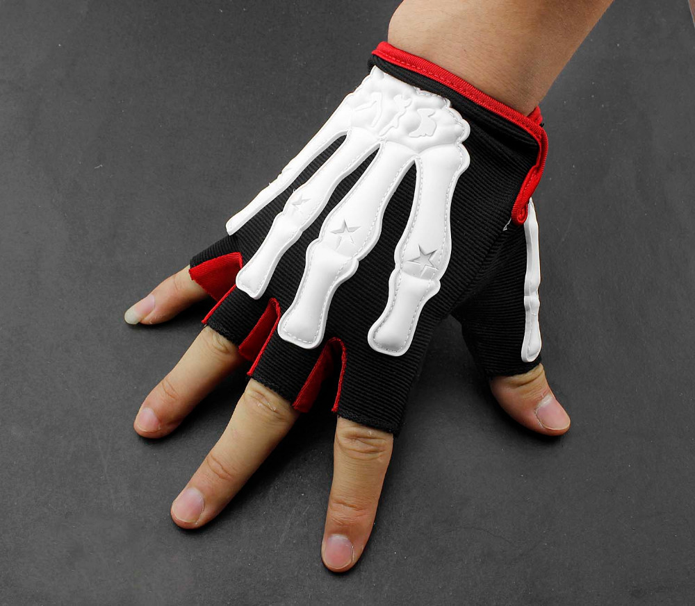Leather motorcycle skeleton gloves - Skeleton Driving Gloves Reviews Ping