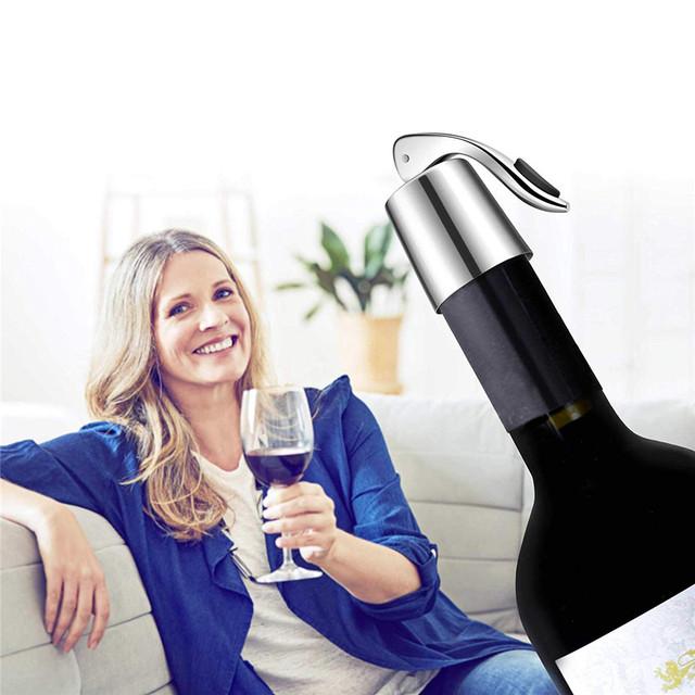 Reusable Stainless Steel Bottle Stopper