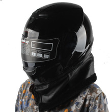Jiekai 101 casco integral con protector de cuello envío gratis capacetes casco cascos de motocicleta hombre mujer invierno a prueba de viento