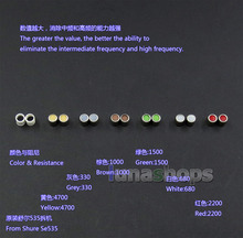 LN005144 Armatür Sönümleme Damperi Kulaklık Fişleri Için Knowles Elektronik Akustik Shure Se215 se315 se425 se535 Se846 TF10 LM5144