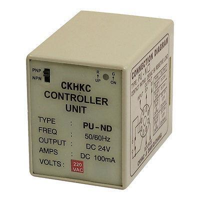 PU-ND DC 24V 100mA SPDT 8 Pins Controller Unit for Proximity Switch turck proximity switch bi2 g12sk an6x