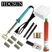 Brand new 7 in 1 UV glue Optical Clear Adhesive dispergator + solder iron Hot Blade Decal Remover glue LCD touch screen repair