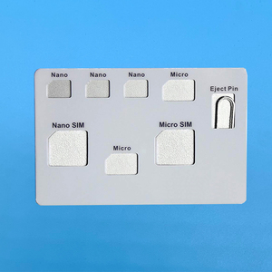 Image 3 - SIM Card Adapter set & NANO SIM Card Holder Case with phone Pin needle  Quality sim ,Converter set for nano micro sim card