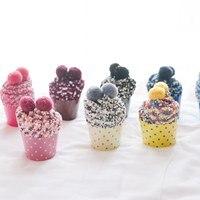 Women S Cake Socks In Tube Bubble Coral Cashmere Manufacturers Japanese Girl Socks Gift Box Socks