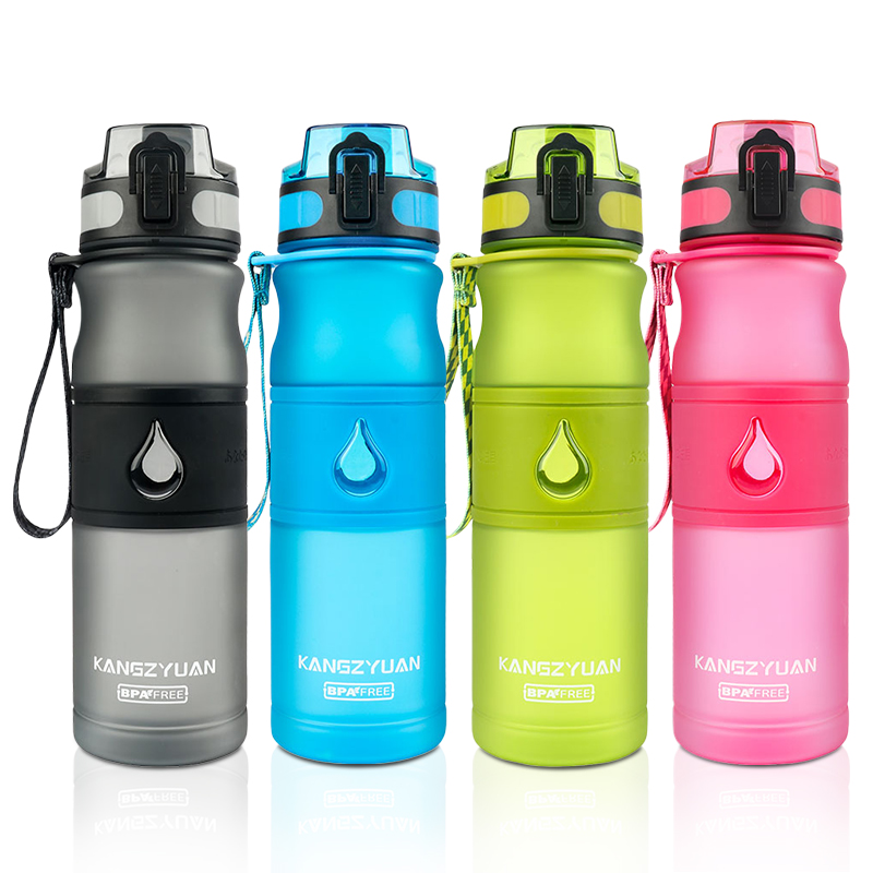 Water Bottle Plastic Sport Bpa Free 530ML With Tea Infuser Gourde Direct Drinking Shaker Bottle Climbing Bottle For Water-in Water Bottles from Home & Garden on AliExpress