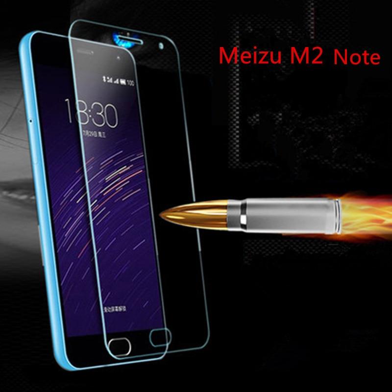 Xinchentech для Meizu M2 Note чехол закаленное Стекло Плёнки 9 H ультратонких Настоящее Премиум Экран Защитная крышка для Meizu m2note