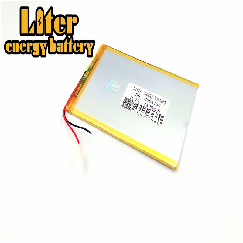 1PCS/Lot <font><b>3.7V</b></font> <font><b>4400mAH</b></font> 2894130 3095130 3094130 PLIB ( polymer lithium ion <font><b>battery</b></font> )Li-ion for tablet pc e-book gps mp4 image