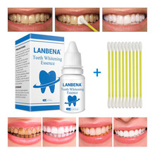 LANBENA teeth whitening essence powder oral hygiene cleaning serums removes dental plaque dyes whitening dental instruments toot(China)