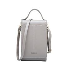 Badouqiu PU Leather Phone Bag Exquisite Clutch Bag For Women 2019 Solid Color Zipper Closure Long Section Women Purse Wallets A5 цены