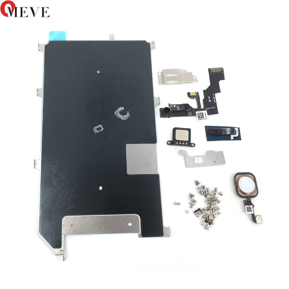 Original LCD Display Screen For iPhone 6S 6S PLUS Metal Small Parts Protect Cover Ear Speaker Front Camera Home Button Flex image