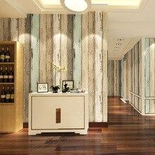 Beibehang Ретро цвет полосатый обои для стен 3 d современный обои гостиной papel де parede 3D бумага стены для спальня