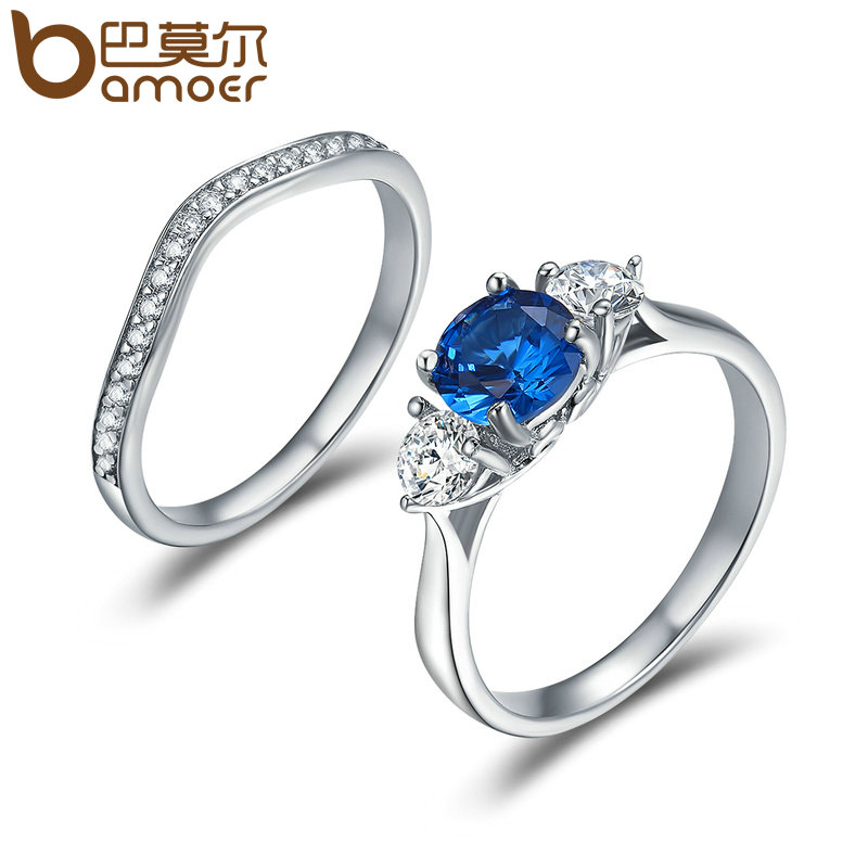 dreamland jewelry app bamoer silver color blue dreamland clear cz 640