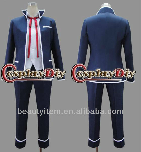 Isana Yashiro Japanese School Uniform for Boy from K Cosplay Costume