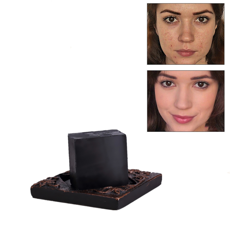2019 Cheapest Newest Traditional Bamboo Charcoal Soap 4 Skin Conditions Acne Psoriasis Seborrhea Eczema Anti Toxin Melasma