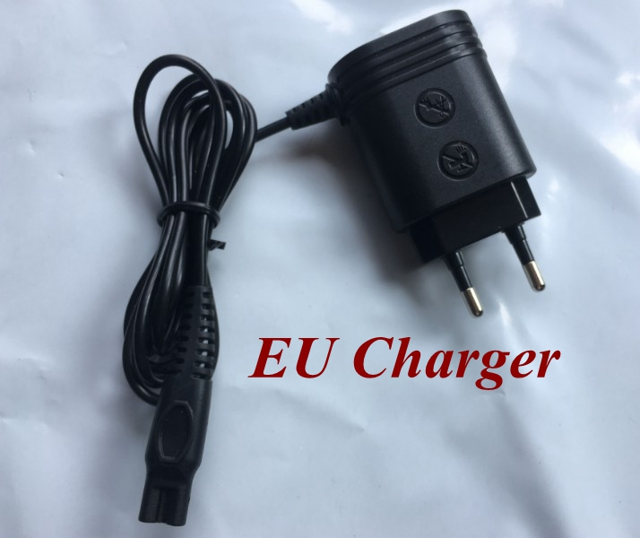 100-240V Plug  USB EU Charger Adapter Replace Head Charge For Philips Shaver Rq10 Rq11 Rq12 Rq32 S7000 S5000 S9000 Hq8 Hq9