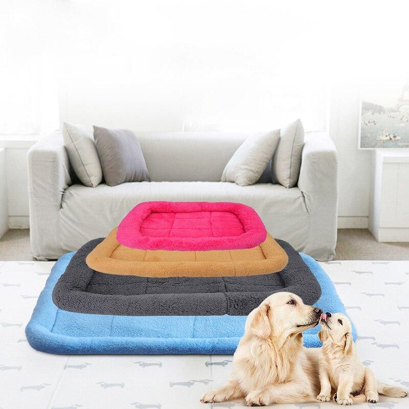 1 Pc Vochtbestendig Huisdier Bed Warming Hond Huis Zachte Fleece Nest Hond Mat Herfst Winter Warm Kennel Voor Kleine Medium Grote Honden