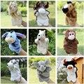 2017 Niños Juguetes Interactivos de Marionetas de Peluche Canguro Perro Caballo Burro Marioneta Muñeca de la Felpa Juguetes Regalos Para Los Niños Del Bebé