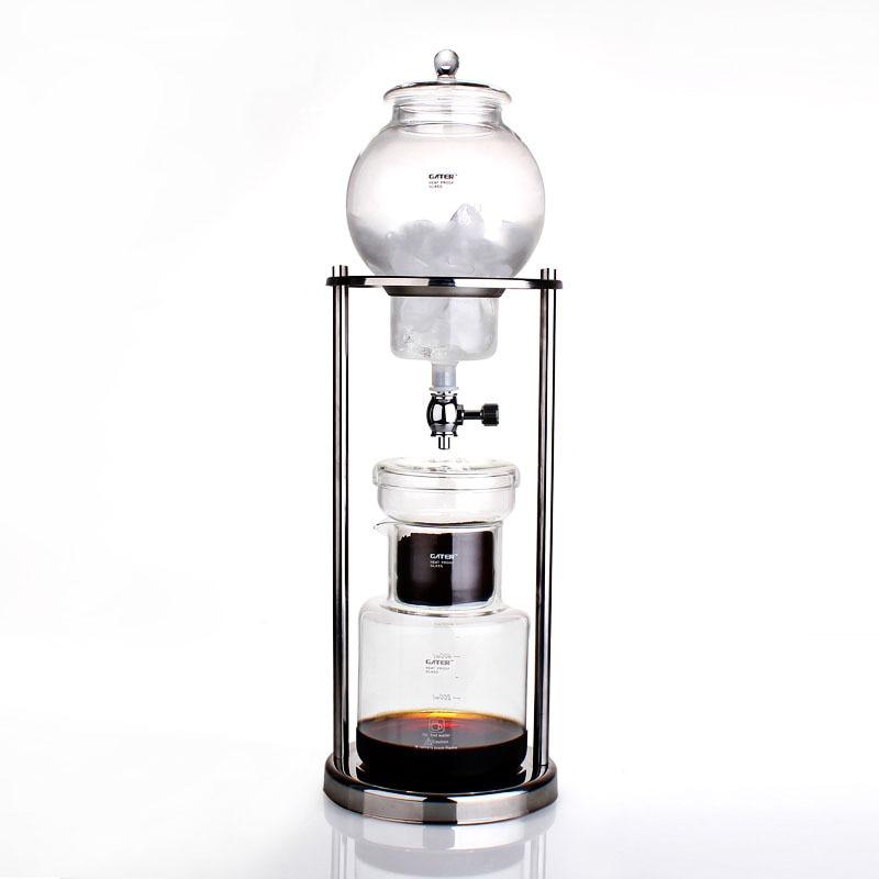 600 ml 1000 ml clásico de la cerveza fría del café del hielo del café del Espresso de la olla del goteo del café-in Cafeteras from Hogar y Mascotas    1
