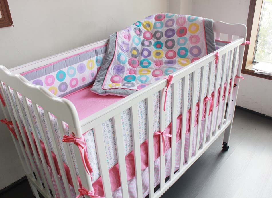 7PCS embroidery Baby Crib Bedding Set Baby cradle crib cot bedding set cunas ,include(4bumpers+duvet+bed cover+bed skirt)7PCS embroidery Baby Crib Bedding Set Baby cradle crib cot bedding set cunas ,include(4bumpers+duvet+bed cover+bed skirt)