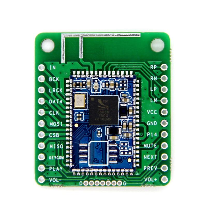 Bluetooth V5.0 CSR8670 Low Power Bluetooth Audio Module APTX Lossless Compression I2S Fiber SPDIF Output