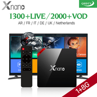 XNANO Android 6 0 TV Box Amlogic S905X 1G 8G Quad Core WiFi 4K IPTV Box