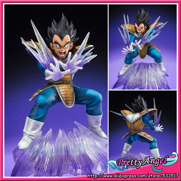 Japanese Original Bandai Tamashii Nations Dragon Ball Z Figuarts Zero Vegeta Galick Gun Action Figure 100% original bandai tamashii nations buddies no 015 collection figure vegeta from dragon ball z