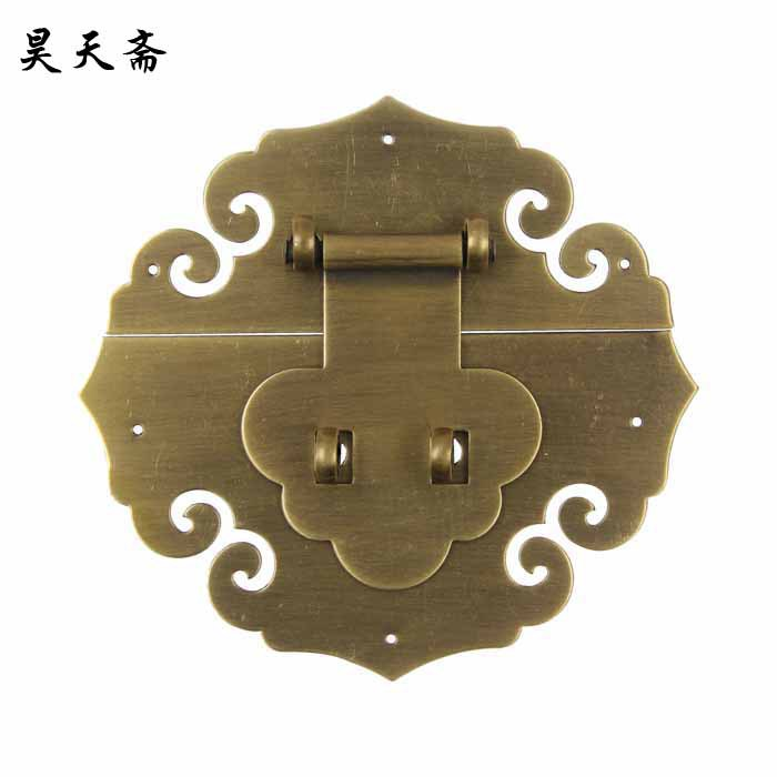 [Haotian vegetarian] imitation of Ming and Qing Dynasties of Chinese copper fittings suitable for 50-70CM Zhangmu Xiang box HTN- семен резник амазонка