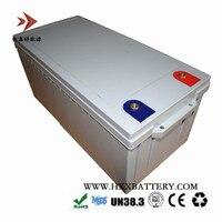 12,8 V 250AH батарея, сделанная призматические клетки глубокие циклы, литий железо фосфат LiFePo4 пакет для солнечной телекоммуникационной базы веч