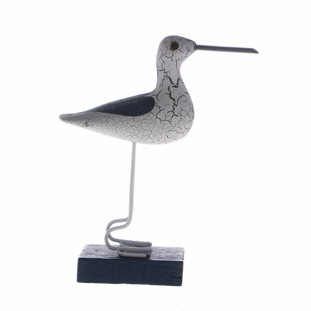 Mediterranean Style Seabirds Figurines 3 Pcs Set 6